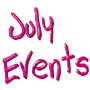 July 2015 Events at GMS