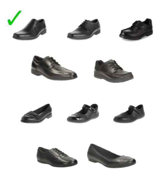 Uniform-Acceptable-shoes
